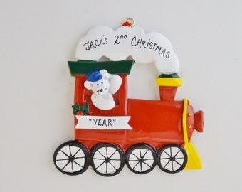 Train ornaments | Etsy