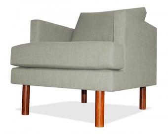 Clark Arm Chair in Platinum