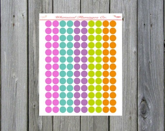 Popsicle Summer Dots (Small)