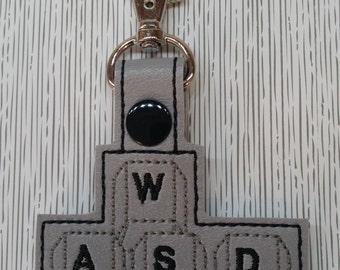 WASD Key Chain