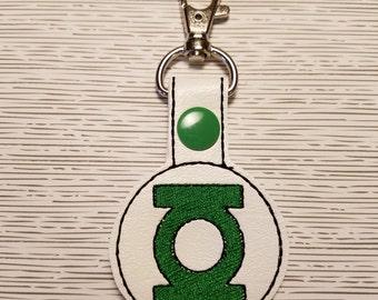 Green Lantern Key Chain