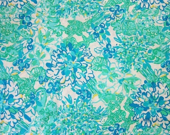 Lilly Pulitzer Fabric In A Pinch Cotton Poplin