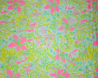 Lilly Pulitzer Fabric Coconut Jungle Cotton Poplin