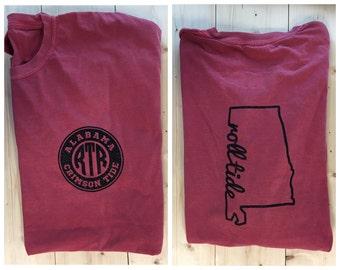Alabama Crimson Tide Comfort Colors Shirt - RTR