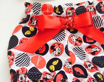 Minnie Mouse Red Bloomers