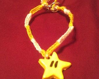 Mario Star Charm Bracelet