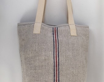 12.000 HUF Vintage grain sack tote bag