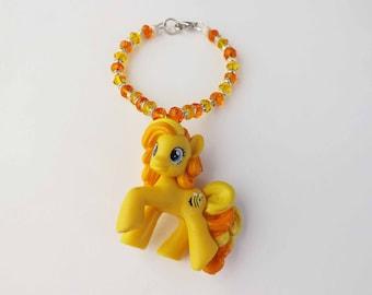 My Little Pony Bumblesweet Swarovski Crystal bracelet MLP pony cosplay jewelry