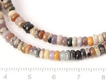 black opal disc shape beads 1string/G-0097