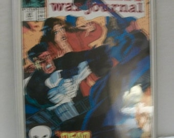 1991 The Punisher War Journal #28 Punisher Goes To Help A Friend VF-NM Unread  Marvel Comic Book