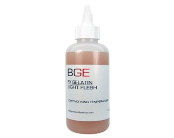 BGE Light Flesh Special FX Gelatin for cuts, lacerations and injuries.