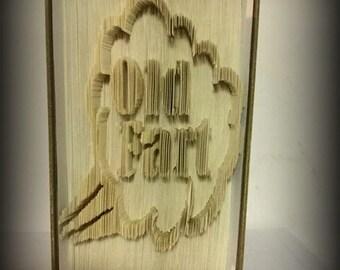 Old Fart book folding pattern