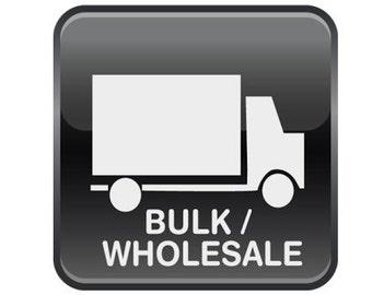 Wholesale orders