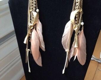 Bone earrings