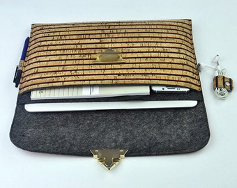 "ON SALE - 17 inch laptop bag, 17 inch Macbook laptop sleeve, 17"" Laptop case, Macbook bag, Macbook 17"" pro sleeve, holiday gift, D1H235"