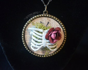 Nature Ribcage Necklace