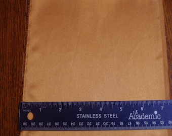 100% Silk Charmeuse - Sueded - Copper