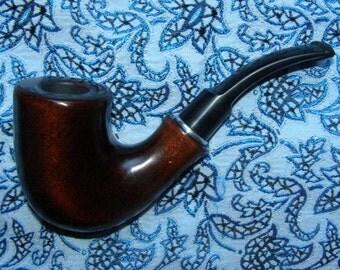 """smooth smoking pipe """"Boatsman"""""""