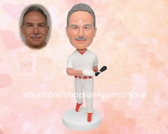 Cute and Funny Birthday Gifts for Husband - Custom  Bobblehead dolls - Bobblehead dolls - gift for   Husbands - Father's day gift