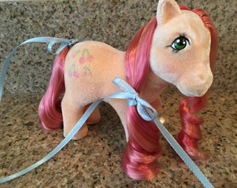 Vintage My Little Pony SS So Soft Cherries Jubilee custom rehair