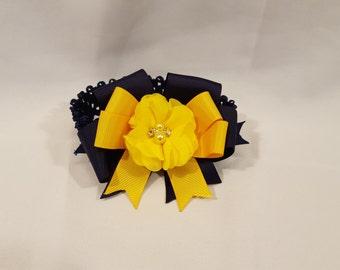 Yellow Flower Baby Head-Band