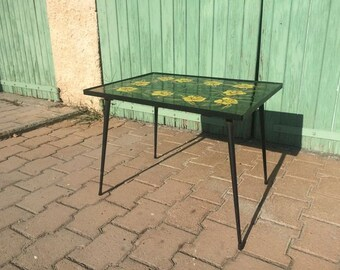 Vintage ceramic coffee table - Ardeco Vallauris - 1960s