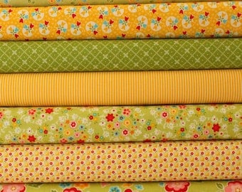 Fabric Bundle Bloom and Bliss by Riley Blake  7x Fat Quarters