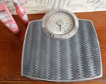 Vintage Salter Bathroom Scales, Working order,Shop Display, Collector, Retro, Boho