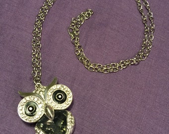 Owl penadant and chain