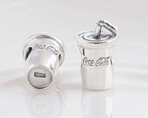 COCA COLA Charm For Pandora Bracelet New Genuine Silver 925 Unboxed Coke Charm