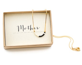 MOTHER || Mother Morse Necklace, Mother Of The Bride Gift, Mother Gift, Mother Of The Groom, Mother In Law, Mother Birthday, Gift For Mom
