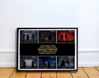 Star Wars Episodes 1-6 Poster
