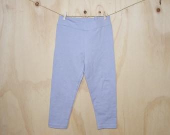 organic cotton baby girls leggings