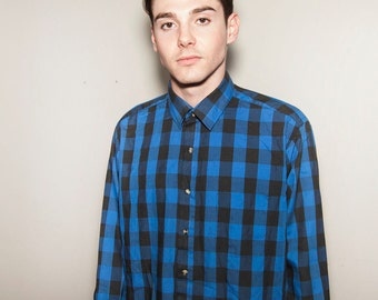 Ardsley Men's vintage Checkered shirt.