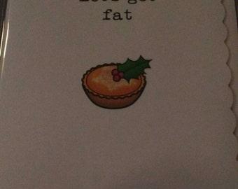 Christmas / card / festive / fun /unusual / seasonal / holidays