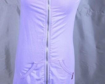 Hard Tail Forever Lavender Mini Dress 1990's