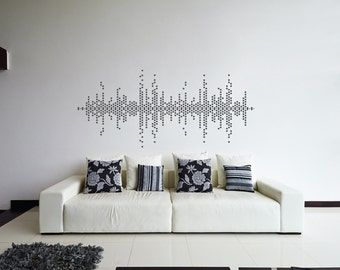 Abstract wall decal Etsy
