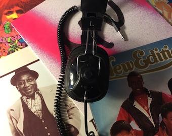 80's Headphones Vintage