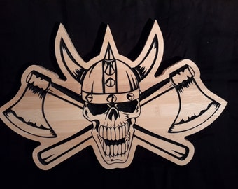 Epic Man Cave wall shields