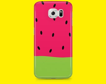 WATERMELON case for Samsung galaxy S5, Samsung Galaxy s6, Samsung galaxy s7 edge, Samsung galaxy s7, Tropical print, phone case, phone cover