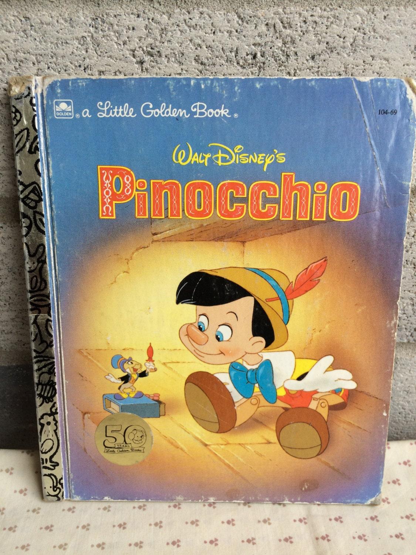 Pinocchio, First Edition