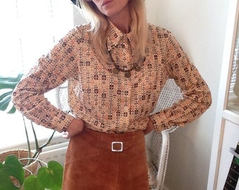 1970's Jersey Blouse