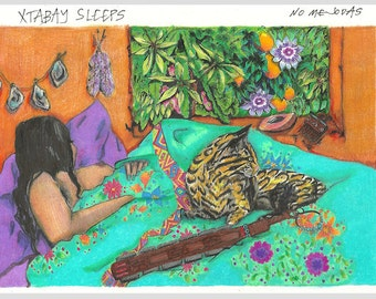 Xtabay Sleeps