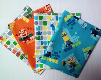 Minions Unique Fat Quarter Bundle