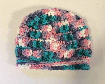 Crocheted Baby Hat size newborn
