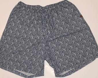 Khushi Shorts - Blue and Black India