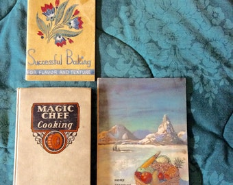 THREE Vintage COOKBOOKS!