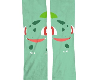 Awesome Pokemon Bulbasaur Socks
