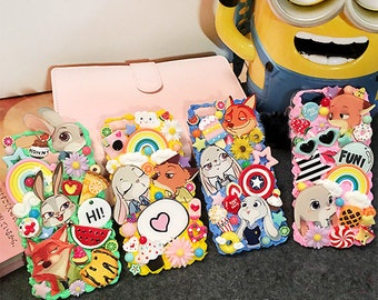 DIY Zootopia phone case kit