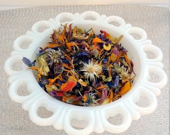 Colorful Dried Petal Flower Girl Toss Confetti Organic Table Decoration Natural Eco Friendly